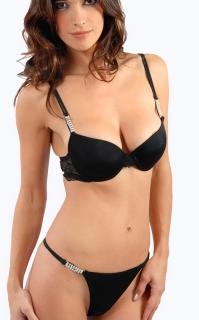 Belle noir satin bikini soutien-gorge culotte dreamgirl cape genie belly dance