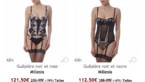 Outlet Lingerie Femme