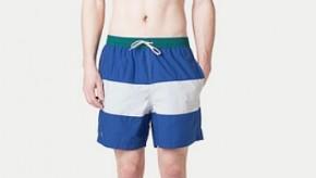 Soldes maillot de bain homme été 2012 : suivez notre repérage chez Lacoste