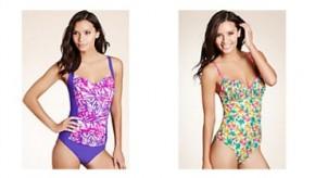 Solde maillot de bain été 2012 : sélection néon et fleurie chez Marks and Spencer