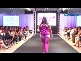 Un défilé de lingerie grande taille par Upmoda