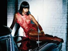 L'agent provocateur choisi Naomi Campbell