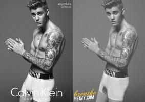 Insolite : Justin Bieber triche sur son physique