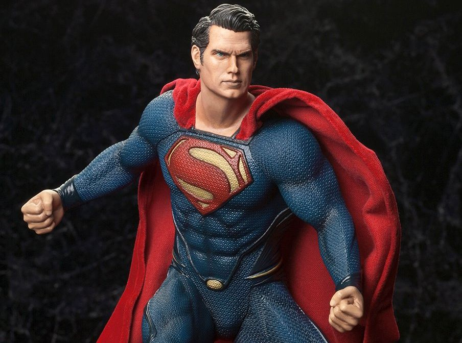 ARTFX-Superman-Man-of-Steel-Kotobukiya-Header