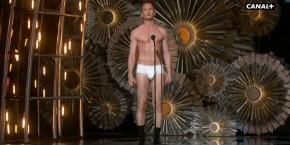 Neil Patrick Harris en slip aux Oscars 2015