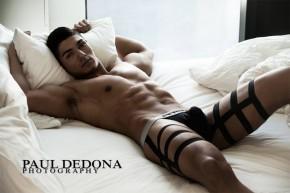 Photo-shoot en dessous sexy pour Petit-Q Underwear