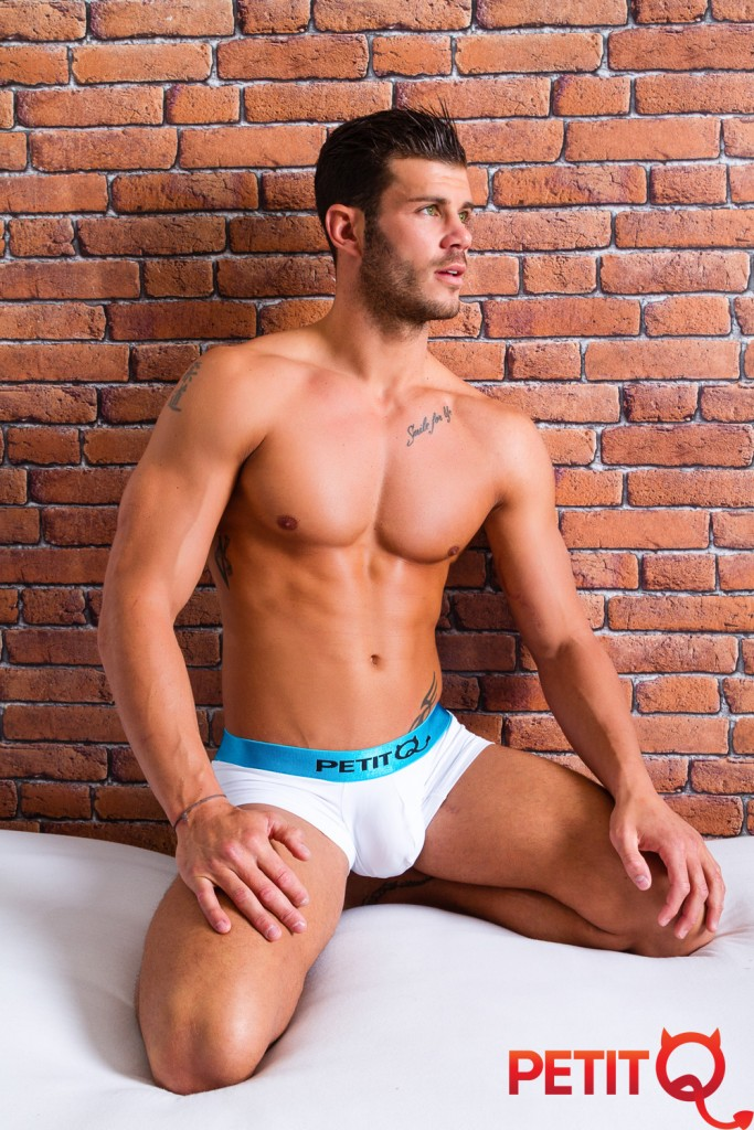 Florent Ré pour Petit Q Underwear