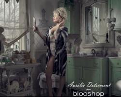 Aurélie Dotremont en lingerie sexy