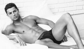 Cristiano Ronaldo en sous-vêtements pour CR7